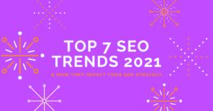 Top SEO Trends 2021 Header Image