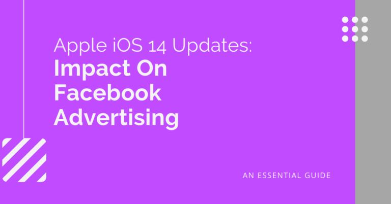 iOS 14 updates impact on Facebook Advertising_Header Graphic