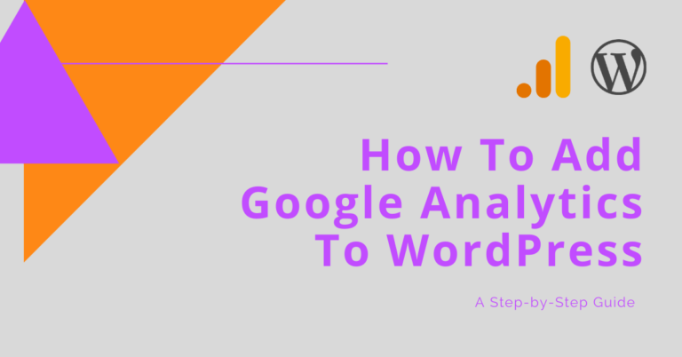 How To Add Google Analytics To WordPress Blog Header Image - Intigress