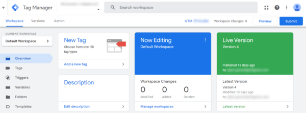 Example GTM Workspace